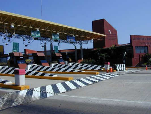 Toll Booths like Border