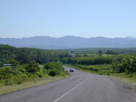 Roads Culiacan to Imala